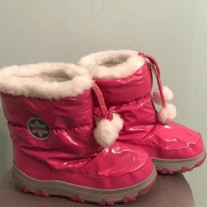 Pink Snow Shoes